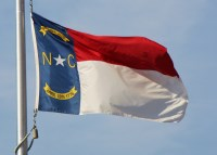 north carolina flag a