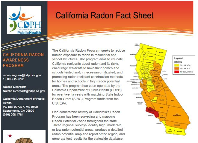California Fact Sheet