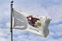 state flag illinois a