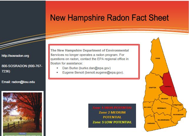 NewHampshire Fact Sheet
