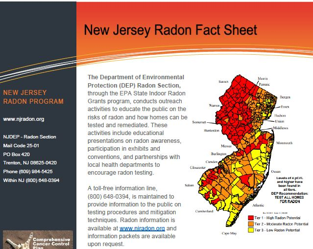 NewJersey Fact Sheet